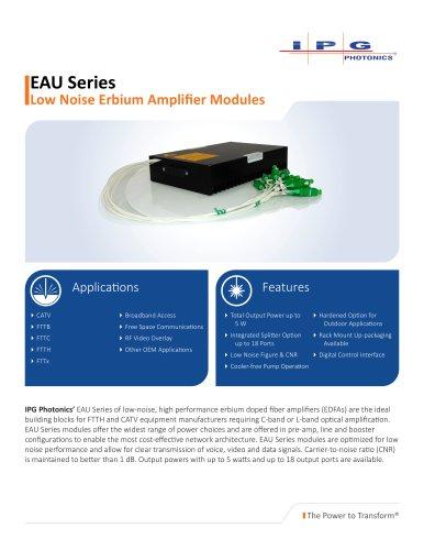EAU Series Amplifier Modules