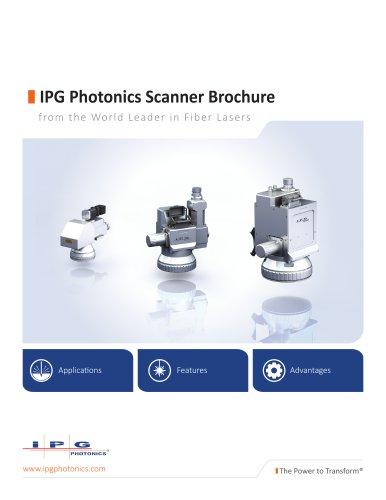 IPG Photonics Scanner Brochure