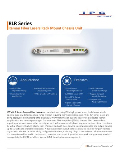 RLR Series
