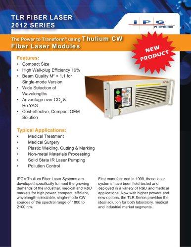 TLR Series - Thulium Fiber Lasers