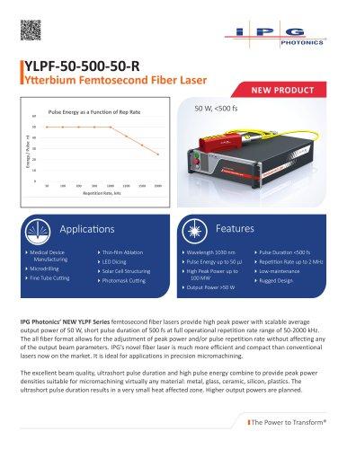 YLPF-50-500-50-R Datasheet