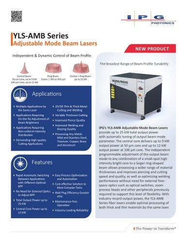 YLS-AMB Datasheet