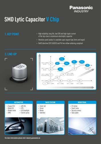 SMD Lytic Capacitor V Chip