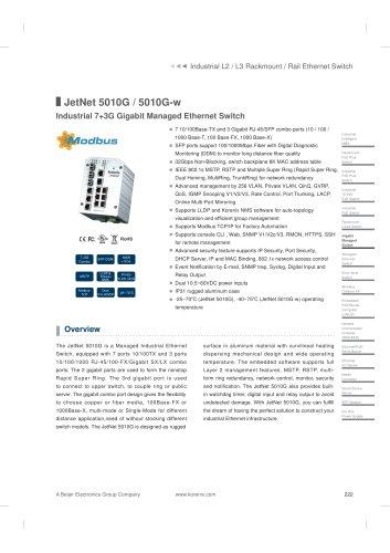 JetNet 5010G/5010G-w
