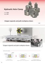 Hydraulic Hole Clamp Model SFA Model SFC