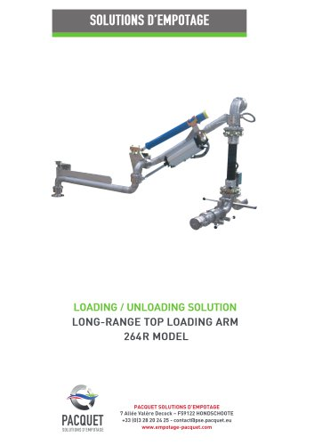 long range top loading arm 264R model