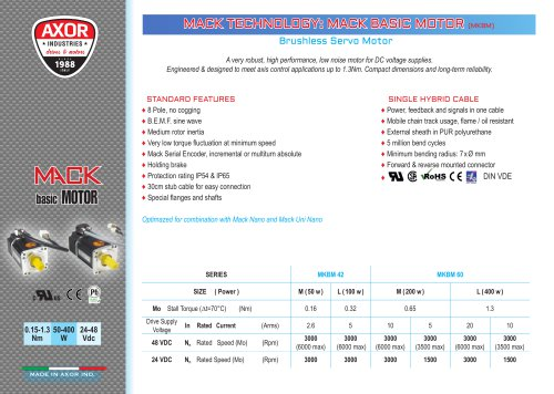 MACK BASIC MOTOR ENG