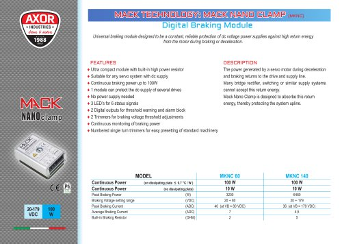 Mack Nano Clamp Digital Breaking Module
