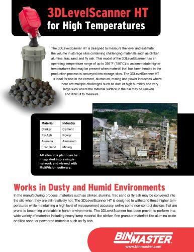 3DLevelScanner HT for High Temperatures Brochure