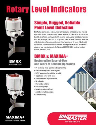 BinMaster BMRX Rotary Level Indicator Brochure