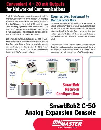 BinMaster SmartBob C-50 Expansion Console Brochure