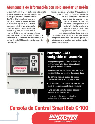 Consola de Control SmartBob C-100