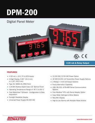 DPM-200 Digital Panel Meter