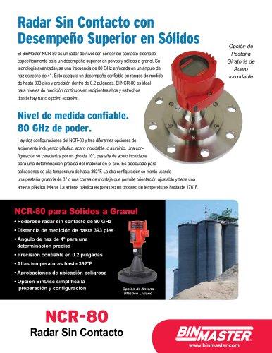 NCR-80 Non-Contact Radar