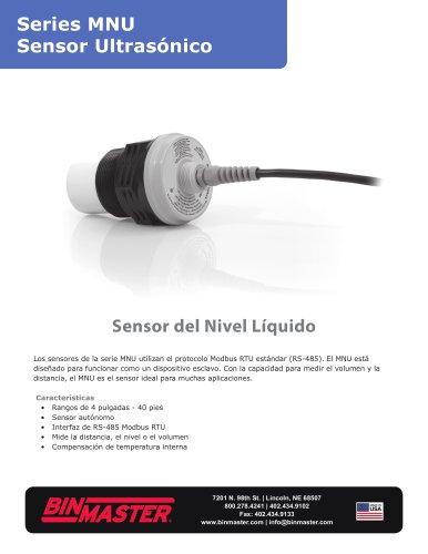 Series MNU Sensor Ultrasónico