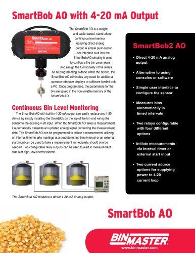 SmartBob AO with 4-20 mA Output to PLC