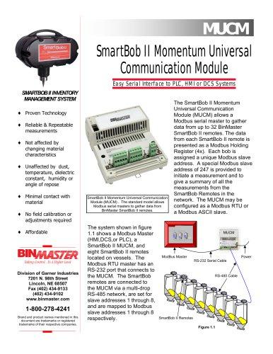 SmartBobII MUCM Brochure