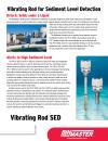 Vibrating Rod for Sediment Level Detection