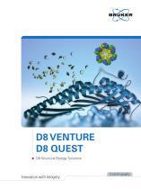 D8 Venture - D8 Quest - D8 Structural Biology Solutions
