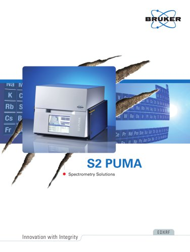 S2 PUMA - Spectroscopy Solutions
