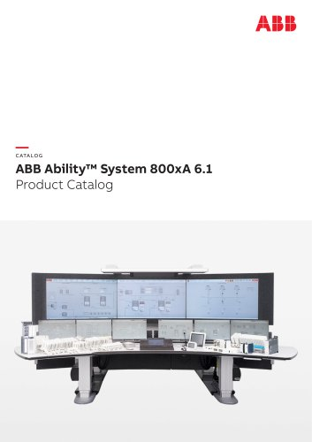 ABB Ability™ System 800xA 6.1