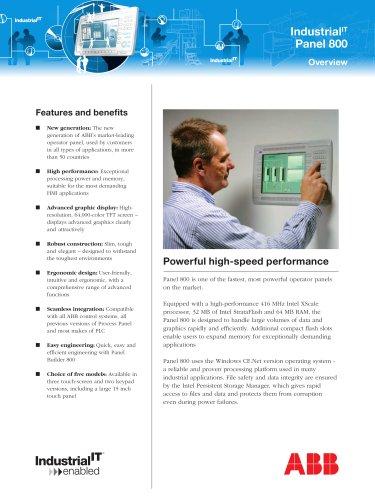 Panel 800 Overview - Brochure