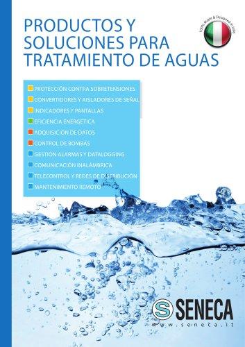 Productos y soluciones para Tratamiento de Aguas