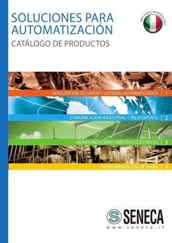 SOLUCIONES PARA AUTOMATIZACIÓN CATÁLOGO DE PRODUCTOS
