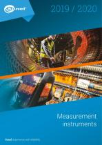 Sonel Measurement Instruments Catalog 2019 / 2020