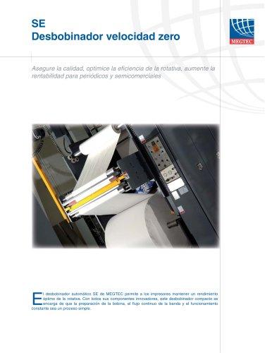 para la impresión de periódicos de ancho simple < 7,6 m/s (1500 pies7min)