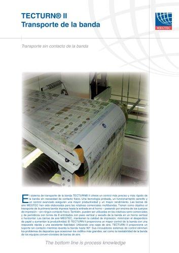 TECTURN™ II  Sistema de volteo de aire para aplicaciones de impresión comercial y semicomercial