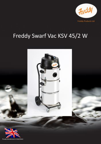 The Freddy Swarf Vac KSV 45/2 W