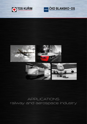 Application_railway and aerospace industry