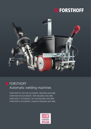 Automatic welding machines