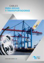 Cables para grúas y transportadoras
