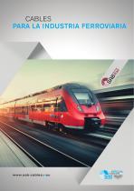 Cables para la industria ferroviaria