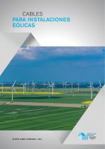 Cables para instalaciones eólicas