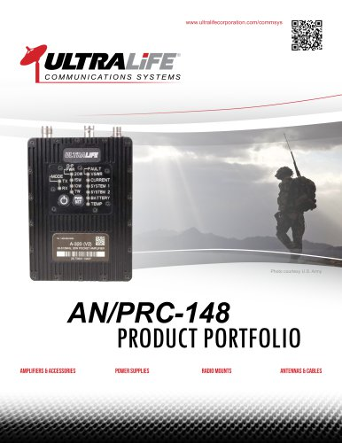 Ultralife Products for the AN/PRC-148
