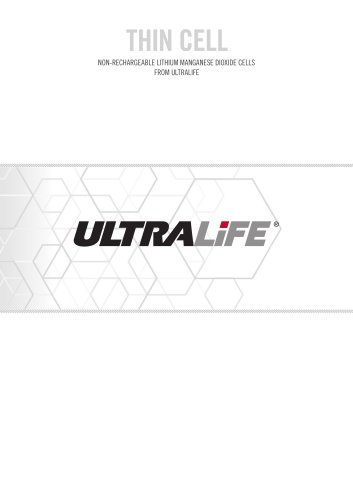 Ultralife Thin Cell Brochure