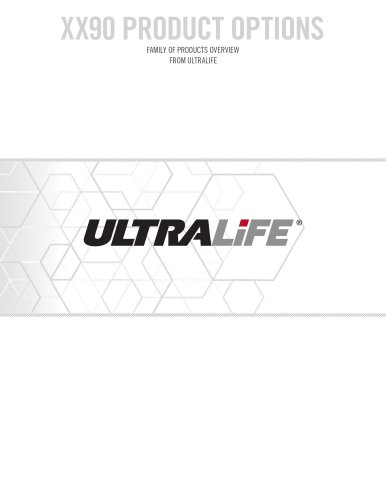 Ultralife XX90 Product Options