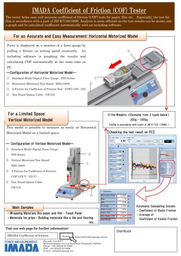 Friction Testing System