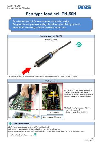 Pen Type Load Cell PN-50N