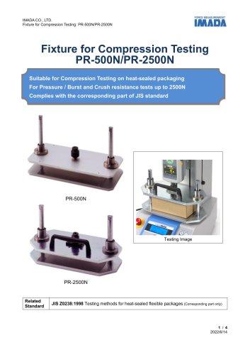 Press Test Fixture PR-500N/2500N