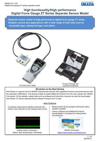 Separated Sensor Model Digital Force Gauge ZTS/ZTA series