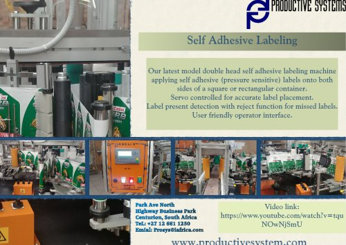Self Adhesive Labeling