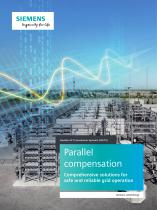 Parallel compensation Comprehensive solutions for safe and reliable grid operation