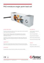 PA2 Miniature Single Point Load Cell (1,000 - 5,000g)