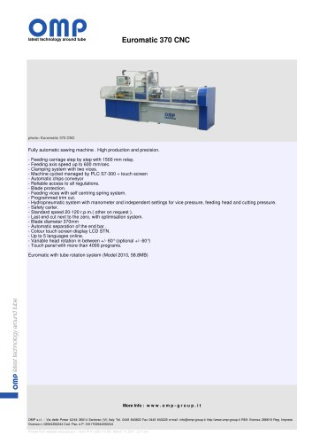 Euromatic 370 CNC