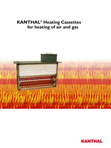 Air heating cassettes