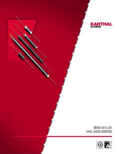 Axial-leaded resistors